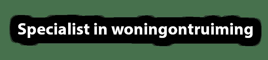 Woning ontruimen