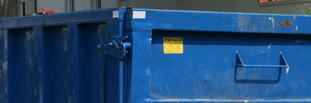 bedrijfsontruiming afval