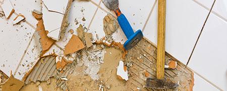 vloerbedekking verwijderen