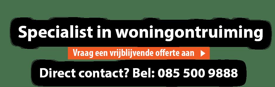 Woningontruiming Heerenveen